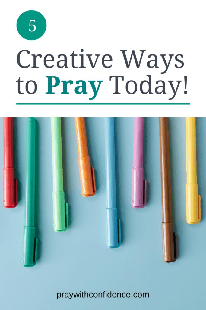 creative ways to pray