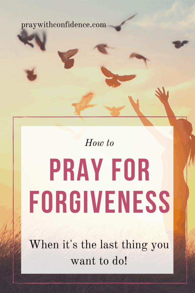 how to pray for forgiveness