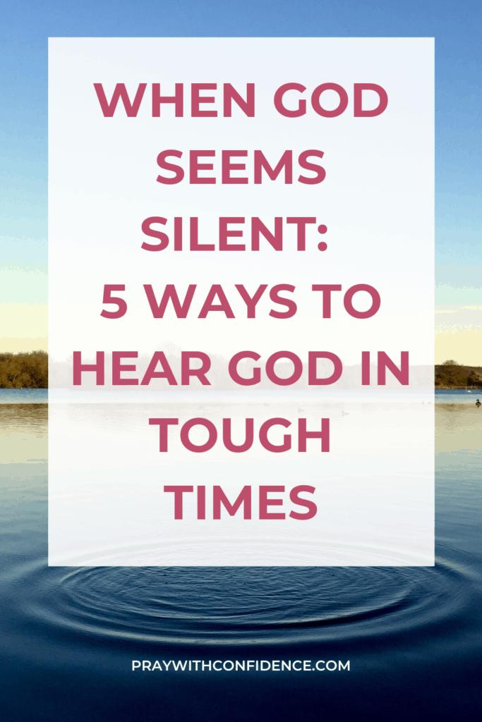 5 ways god speaks to us