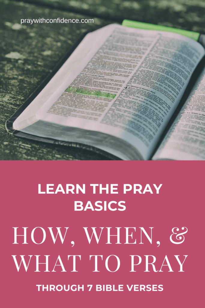 prayer basics