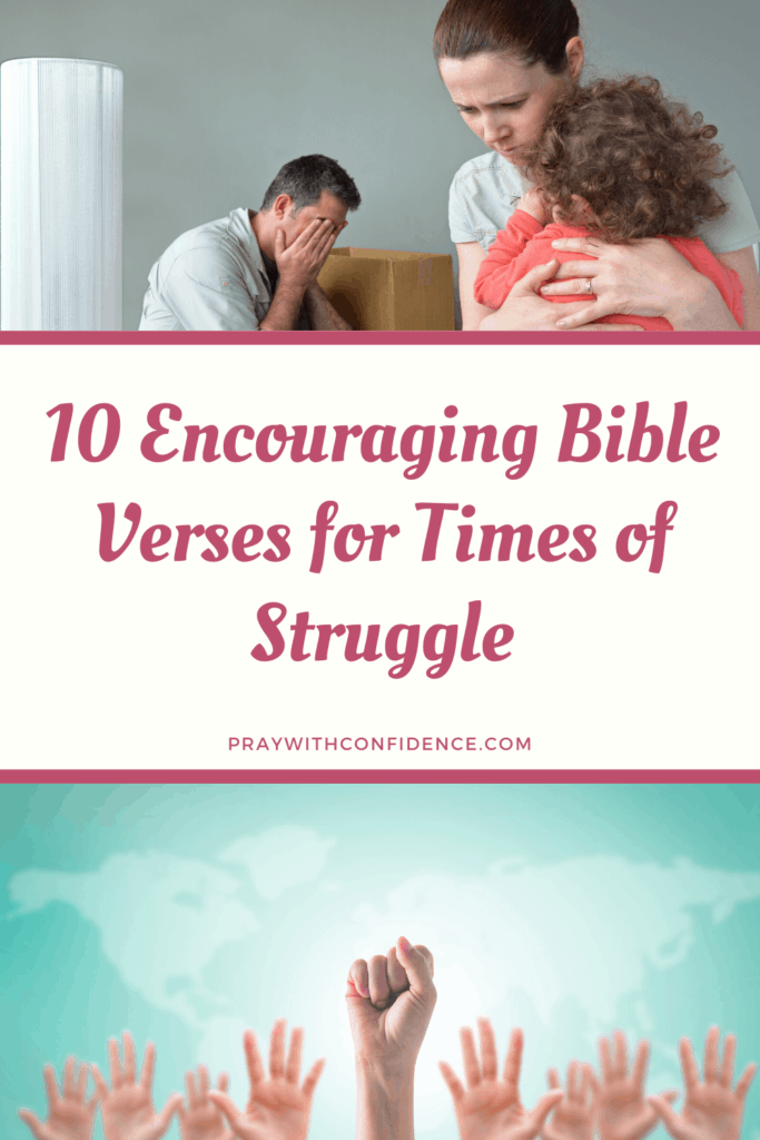 bible verses in times of struggle