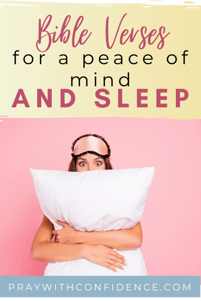 prayer for peace of mind and sleep