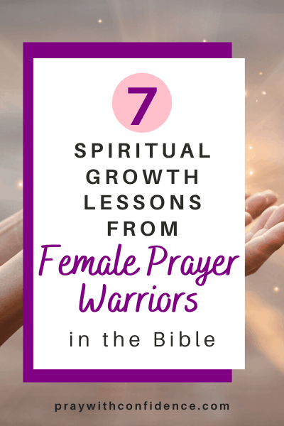 female prayer warriors in the bible