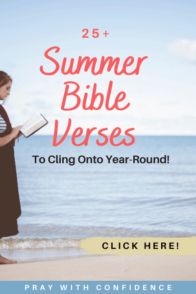25 Bible verses about summer