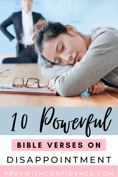 10 bible verses on disappointment