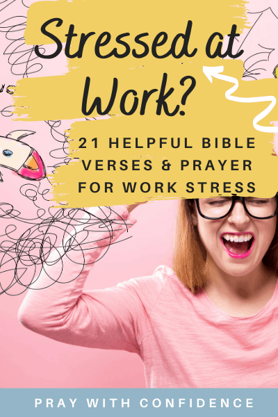 bible verses for stress at work