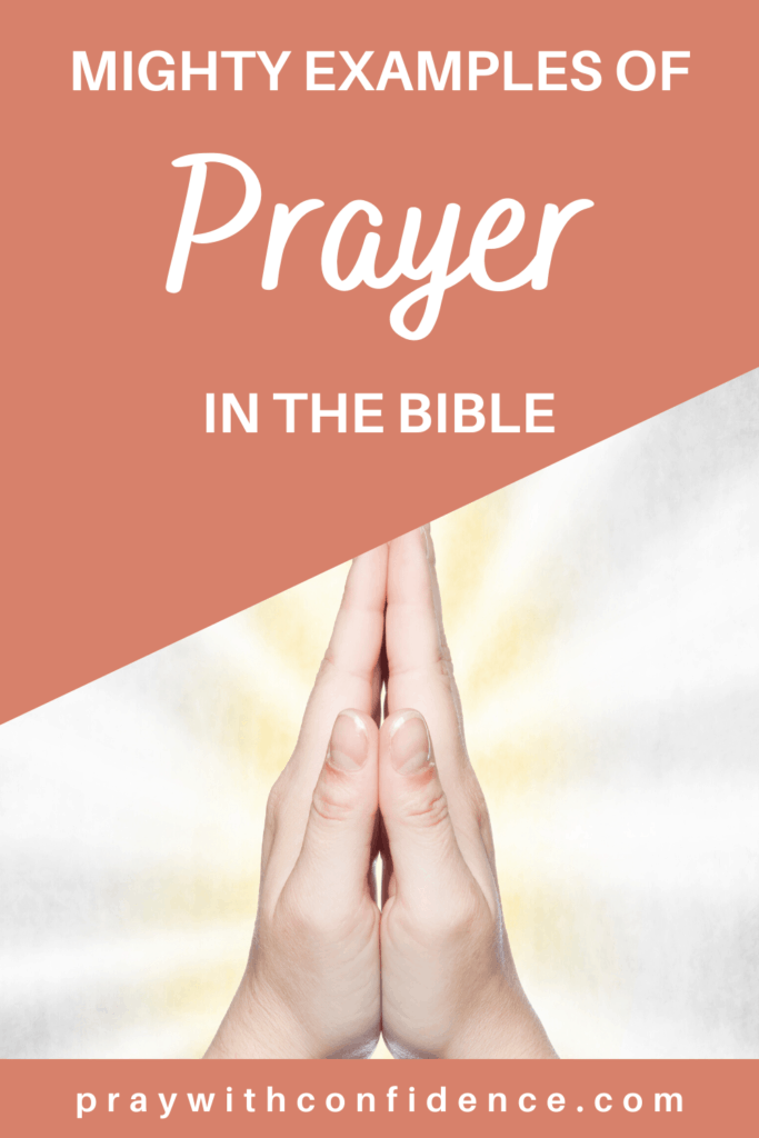 examples of prayer in the bible