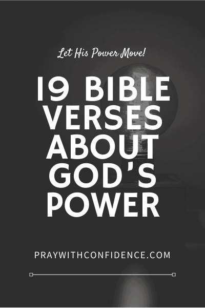 Bible verses about God's power