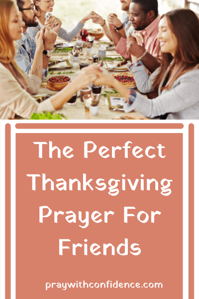 Thanksgiving prayer for family and friends