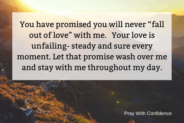 good morning blessings about God's promises