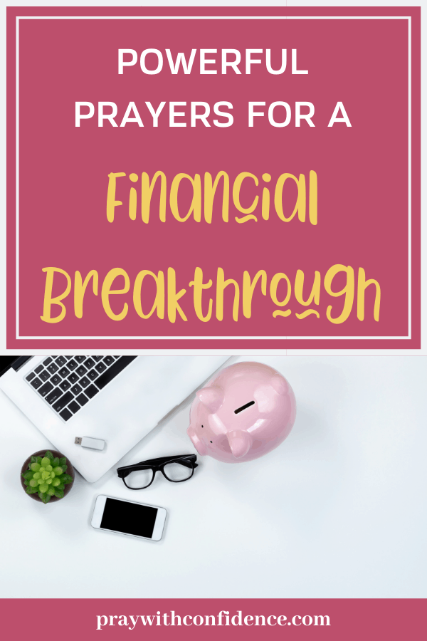 powerful prayers for a financial breakthrough