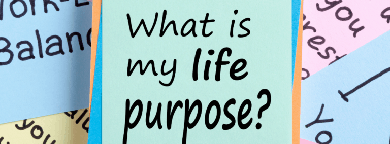 What Is Purpose? And Where Do I Find It?