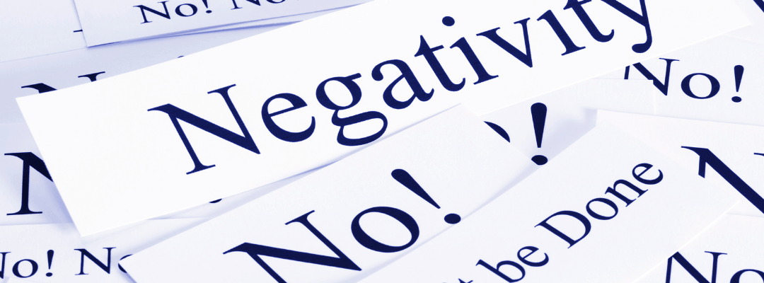 words that say no and negativity