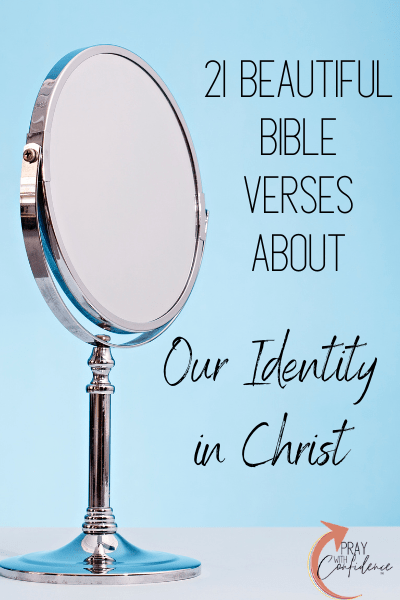 bible verses about identity in Christ