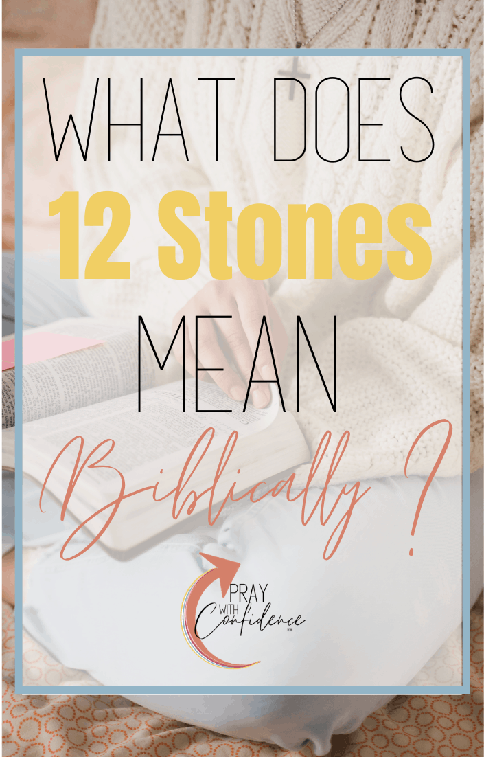 biblical meaning of 12 stones
