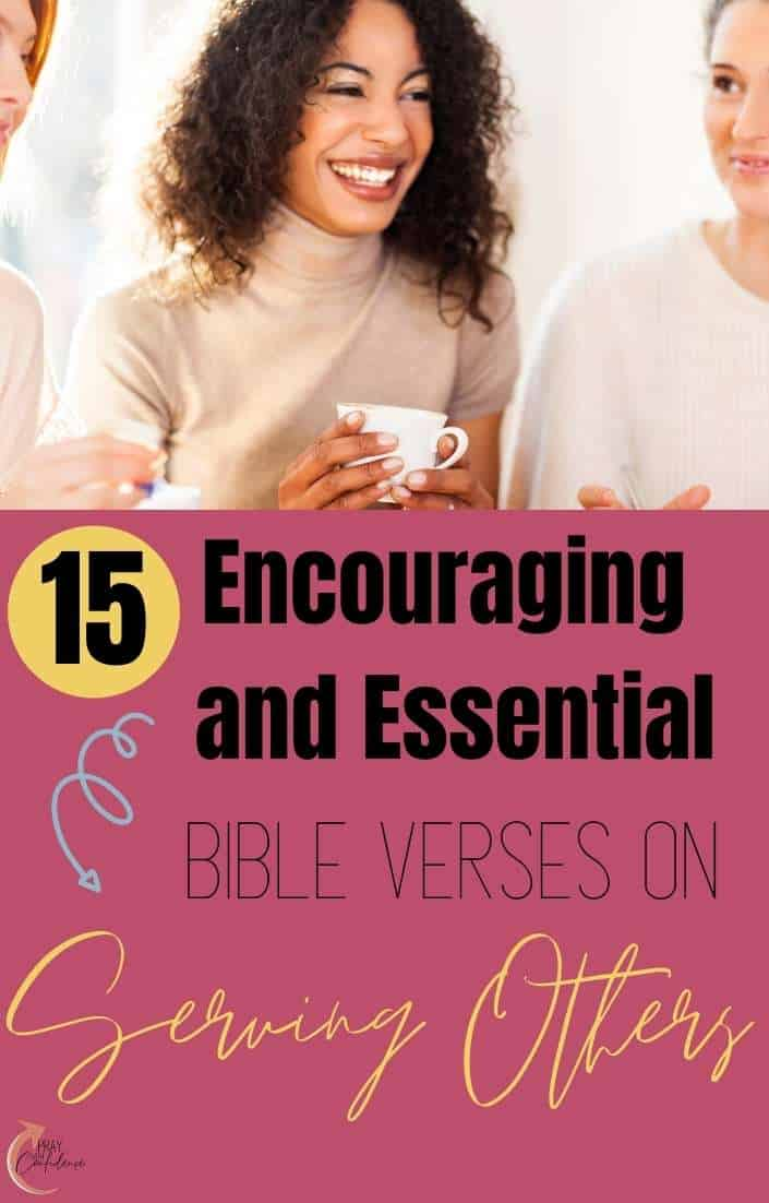 bible verses about serving others
