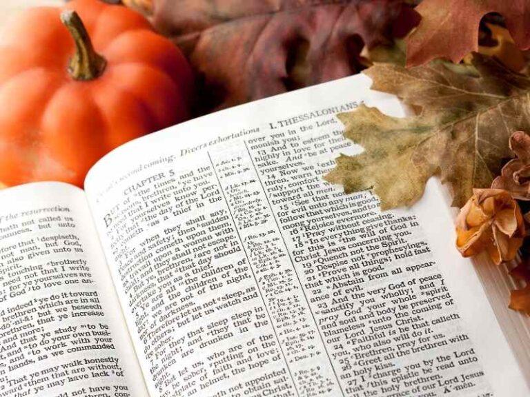 18 Fall Bible Verses to Help You Embrace the Season